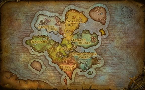 Warlords Of Draenor Detailing The New Zones Of Draenor World Of Warcraft