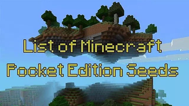 5 Incredible Minecraft PE Seeds Updated Minecraft