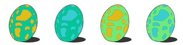 Blue Yian Kut-Ku Egg Patterns and Locations Guide Monster Hunter Stories