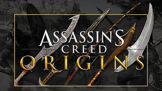 Assassin S Creed Origins Guide All Rare And Legendary Weapons Locations Assassin S Creed Origins