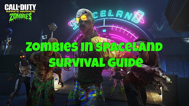 Infinite Warfare Zombies In Spaceland Survival Guide