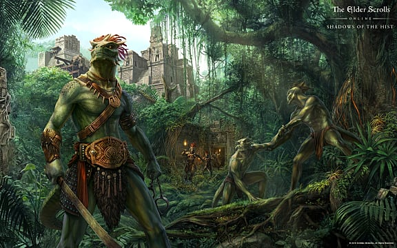 Fall Feather Wallpaper Explore Argonian Dungeons With Eso S Quot Shadows Of The Hist Quot