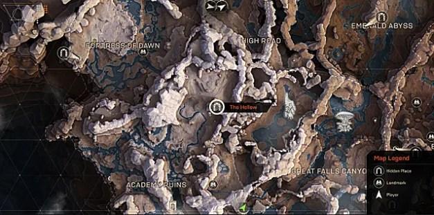 mapa de freeplay do hino