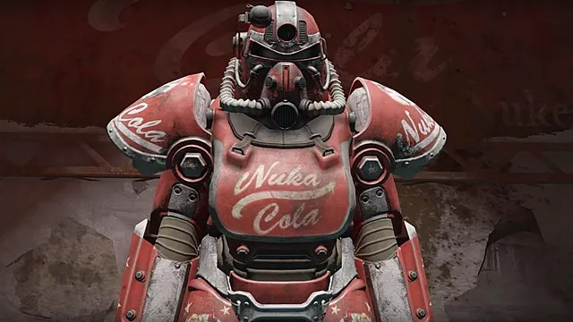 How To Find The Nuka Cola Power Armor Paint In Fallout 76