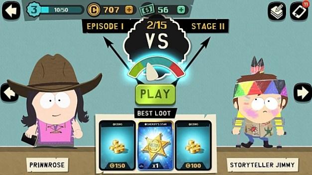 Conservando energía y utilizando todos los tipos de tarjetas Destructor telefónico de South Park Consejos y trucos Guía para principiantes