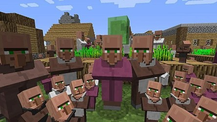 How to Breed Villagers in Minecraft 1 14 4 Minecraft
