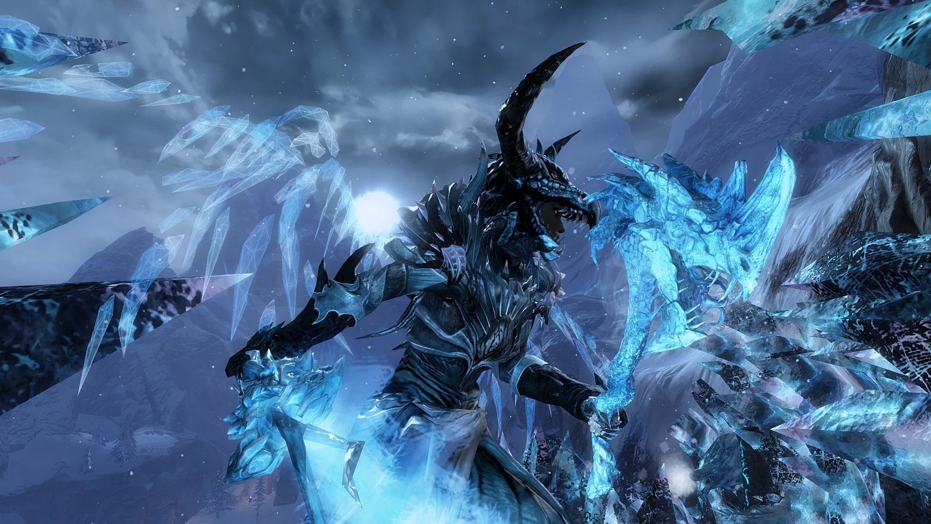 Dextra The Corrupted Ice Dragon Guild Wars 2
