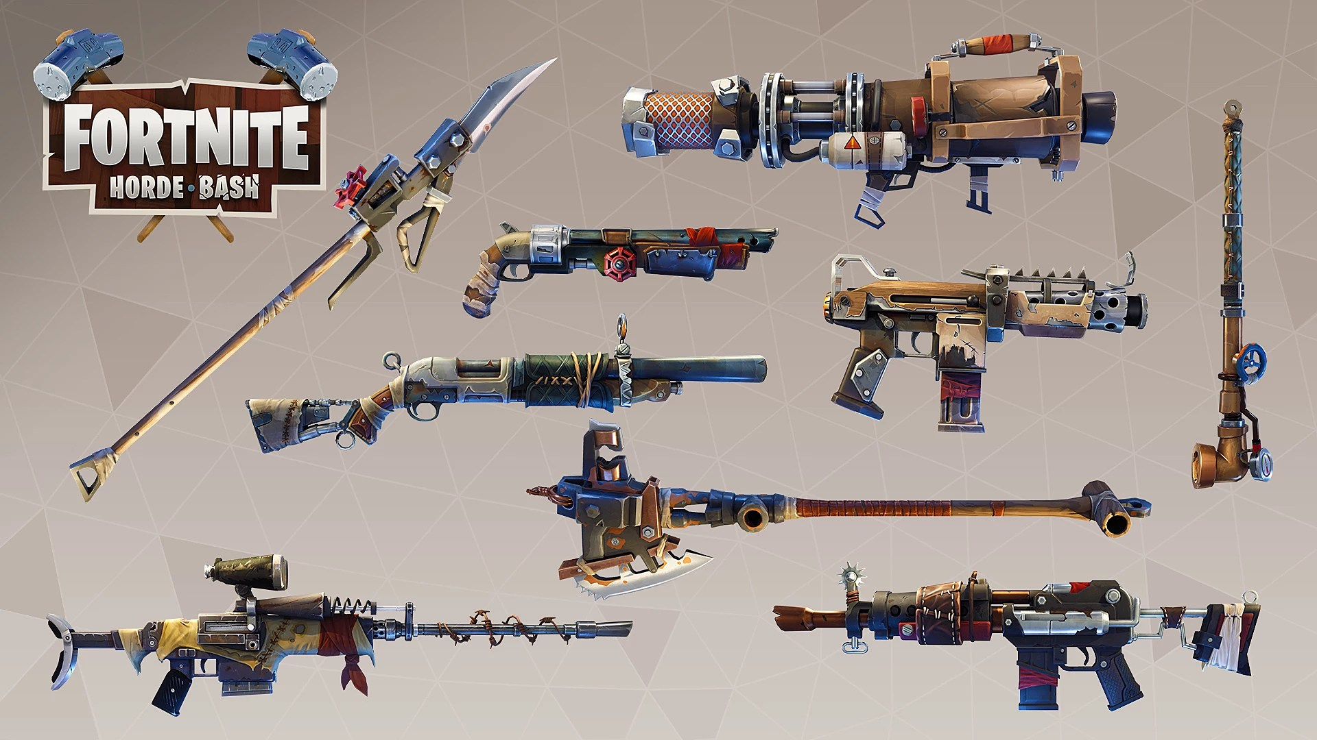 Top 10 Best Fornite Wallpapers Fortnite Horde Bash Mode Survival Guide Fortnite