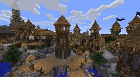 minecraft medieval towns village realms windows town castle biggest mojang project heritagedaily recreating cool pocket harbour tool planetminecraft announces upcoming