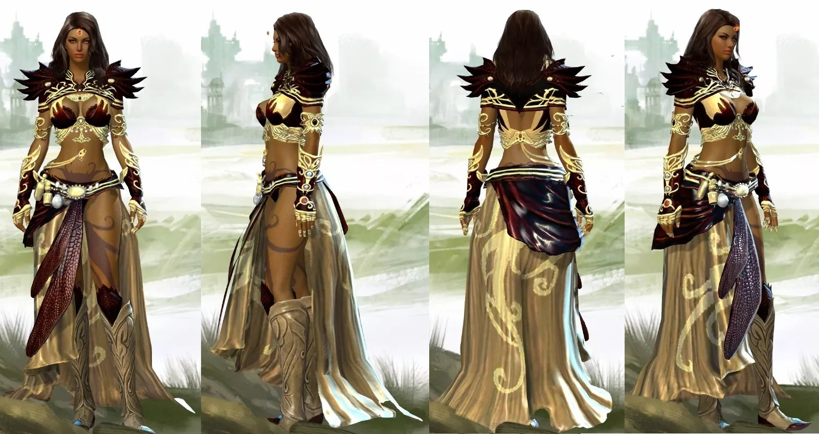GW2 Fashion The Nobles Courage Guild Wars 2