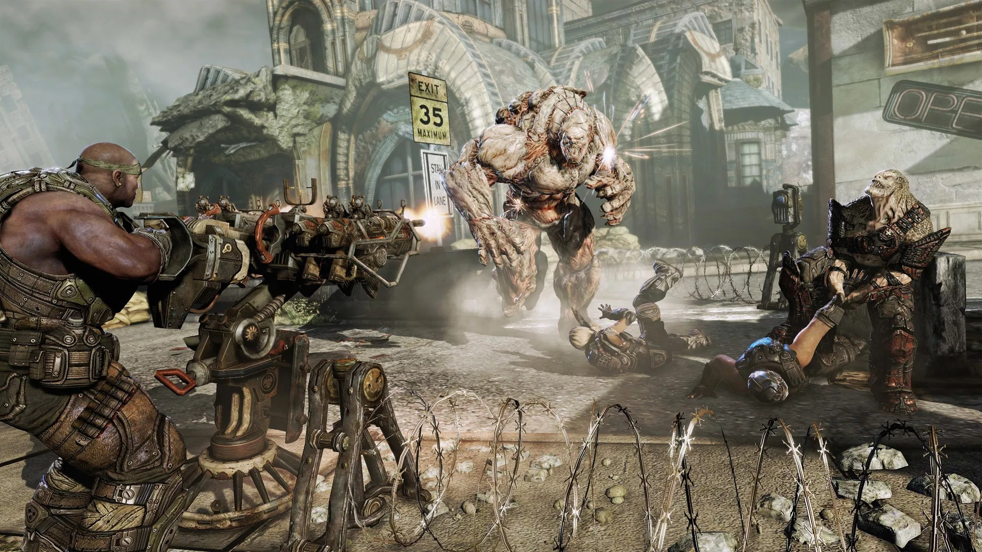 Gears Of War 3 Review Focused Narrative And Tremendous