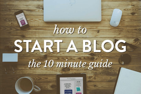 how to start a blog from zero?