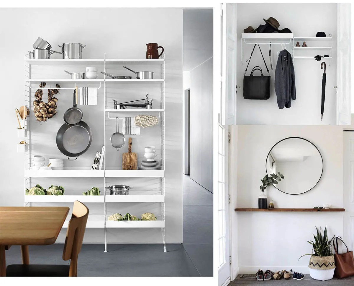 Cinque idee per arredare casa con mensole moderne e di