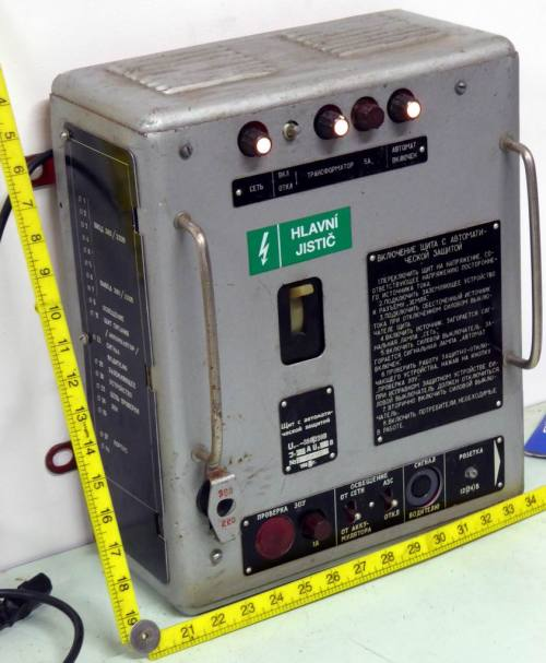 small resolution of russian cold war era electrical switch box with working indicators electro props hire