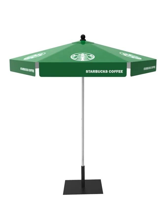 custom market umbrella 8ft hex custom patio umbrella 8ft hex lush banners