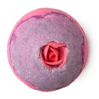 lush burbuja ducha rosas