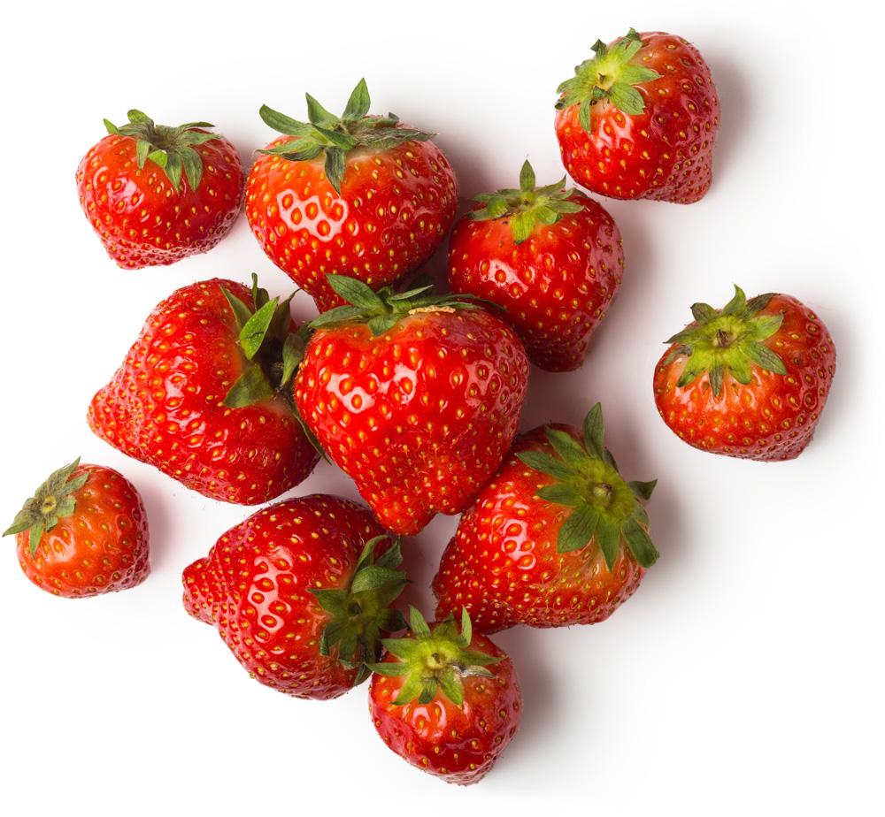 Fresh Strawberries Lush Fresh Handmade Cosmetics Uk