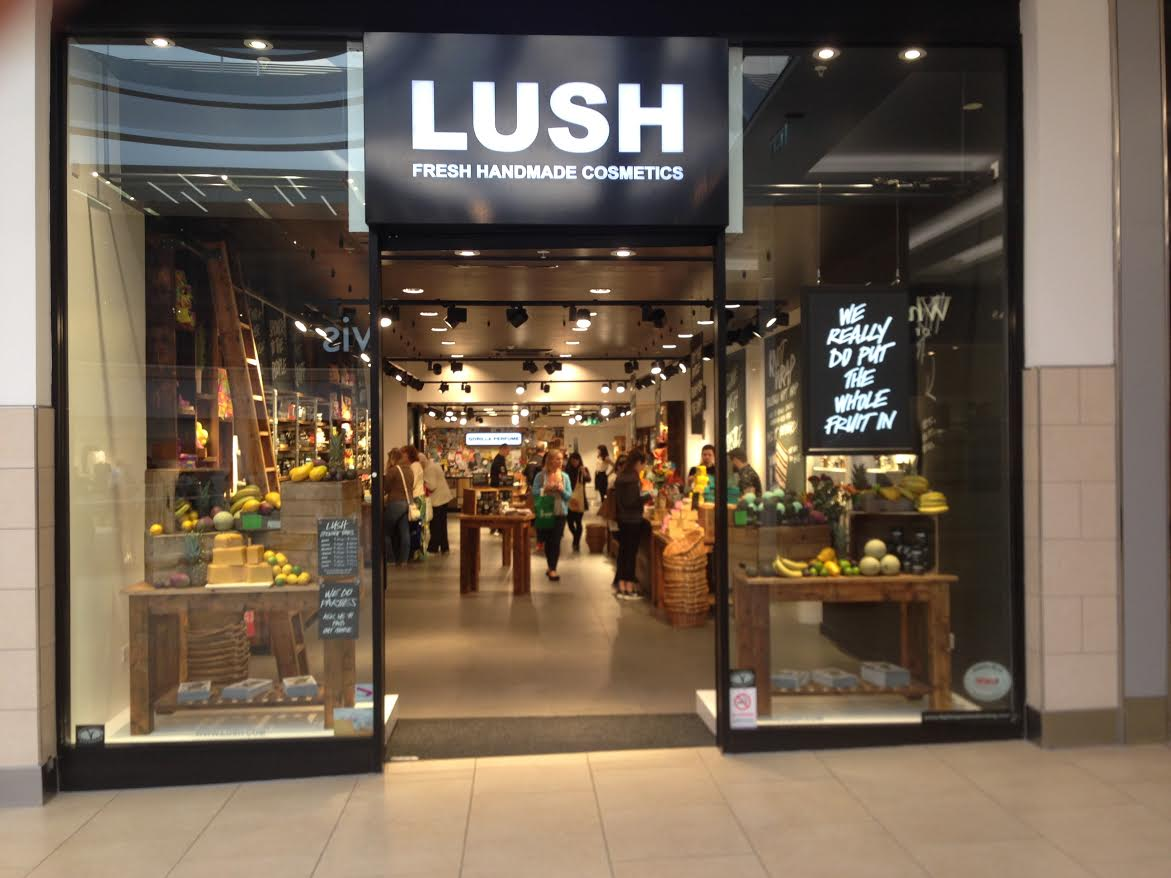 Newcastle  Lush Fresh Handmade Cosmetics