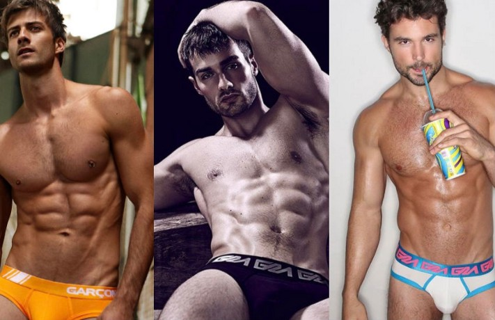 Quench your thirst with these sexy men in their underwear (Images courtesy of Garçon Model)