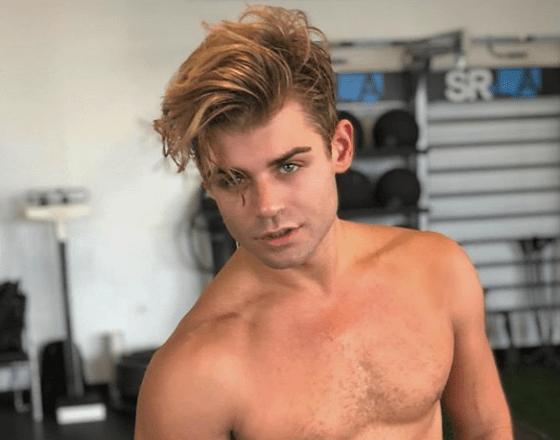 Garrett Clayton (image published via Instagram)