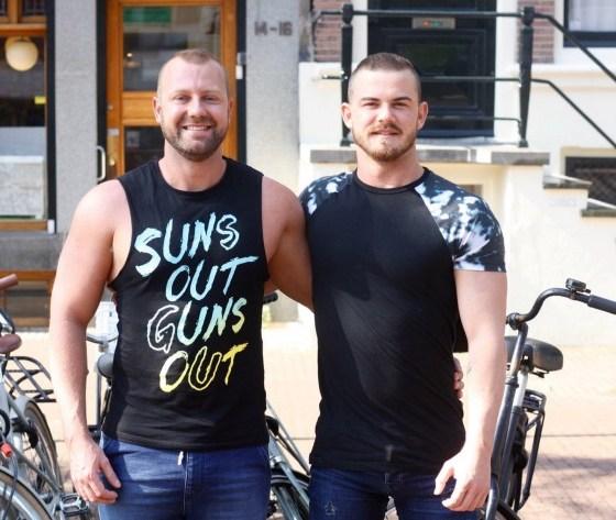 Matt and Steve of Oz Gym Boys (image supplied)