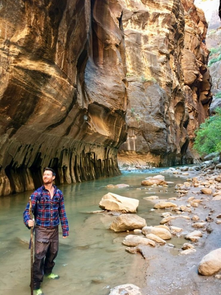 Zion National, the Narrows : Photo courtesy of Knox Peake