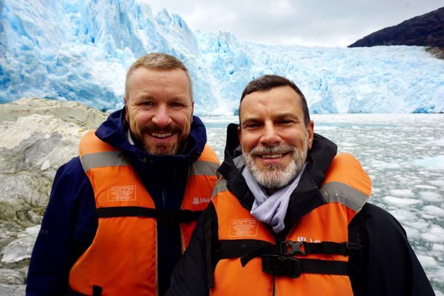 Amalia Glacier, Chilean Patagonia—Images courtesy of Martti and Fridtjof