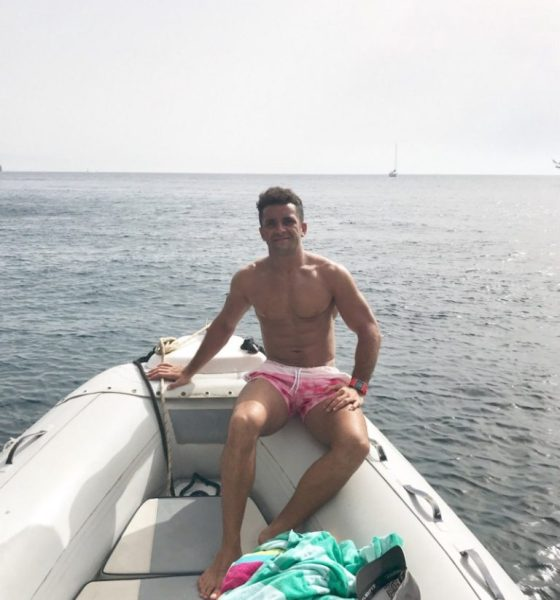 Sam Stanley exploring the Aeolian Islands of Sicily (image supplied)