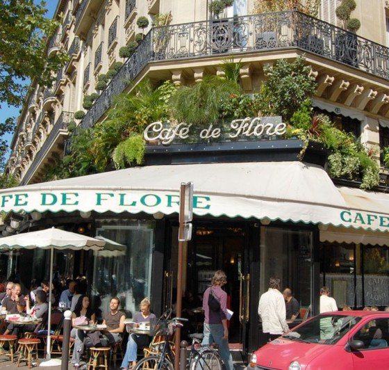 The neighbourhood of Saint-Germain-des-Pres (image: Wikipedia)