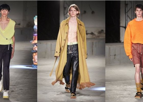 Acne Studios SS19 (image supplied)