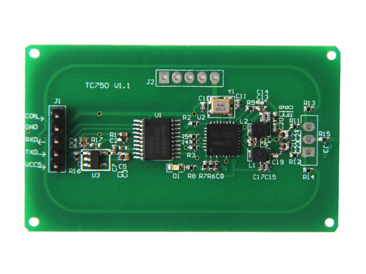 113990436 13.56Mhz RFID Module (Embedded PCB Antenna)推薦   臺灣 MakeHub