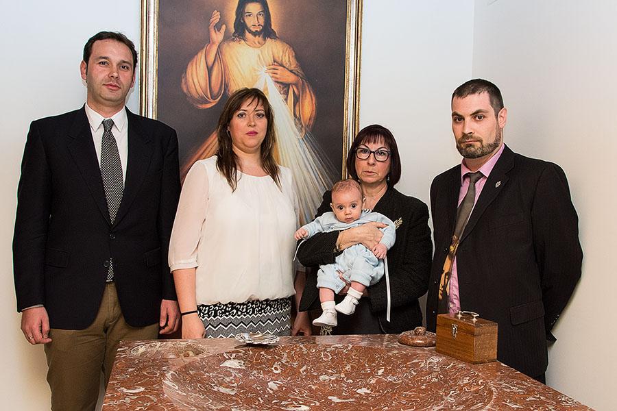 Reportaje fotográfico de bautizo- Erik 6