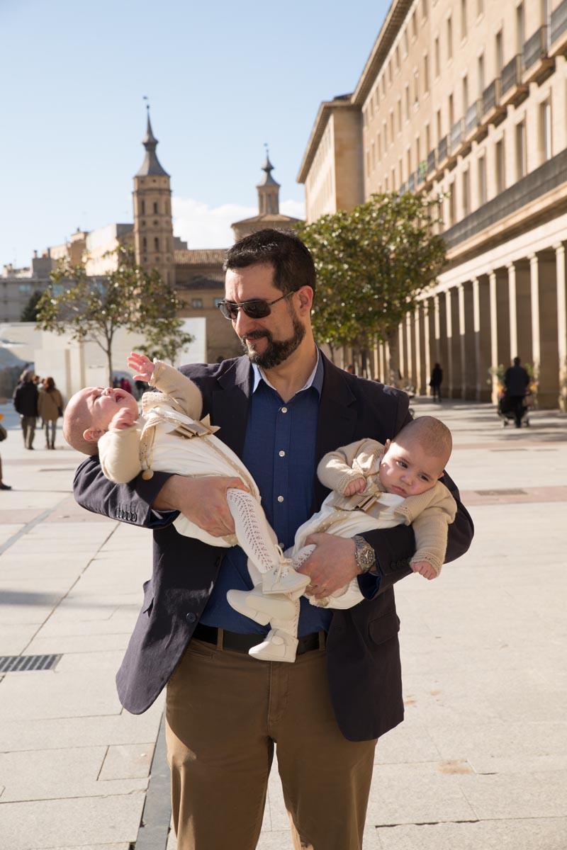 Reportaje de bautizo Basílica del Pilar Zaragoza 12