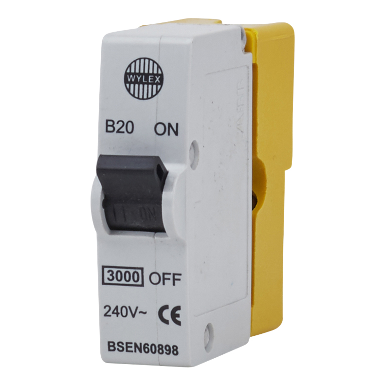hight resolution of wylex 20a plug in mcb type b