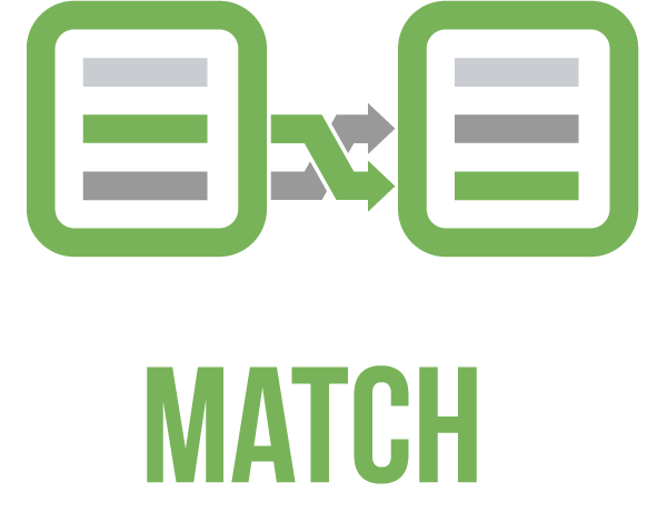 matching two lists easily