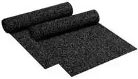 Rolls of Recycled Rubber