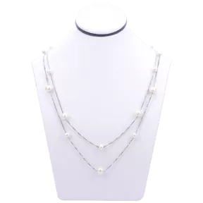 Pearl necklace seen on The Talk deals