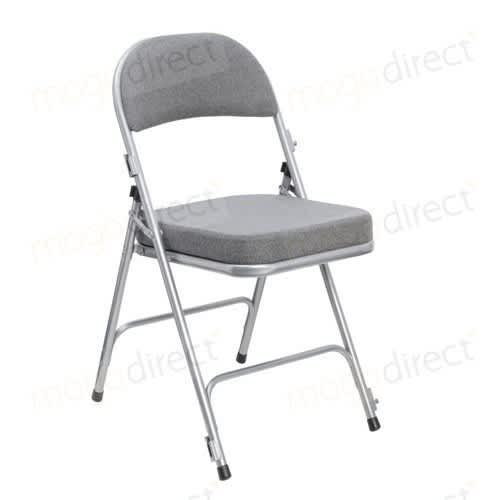 padded folding chairs uk office hanoi comfort deluxe chair mogo direct