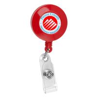 Custom Retractable Badge Holder | Mines Press