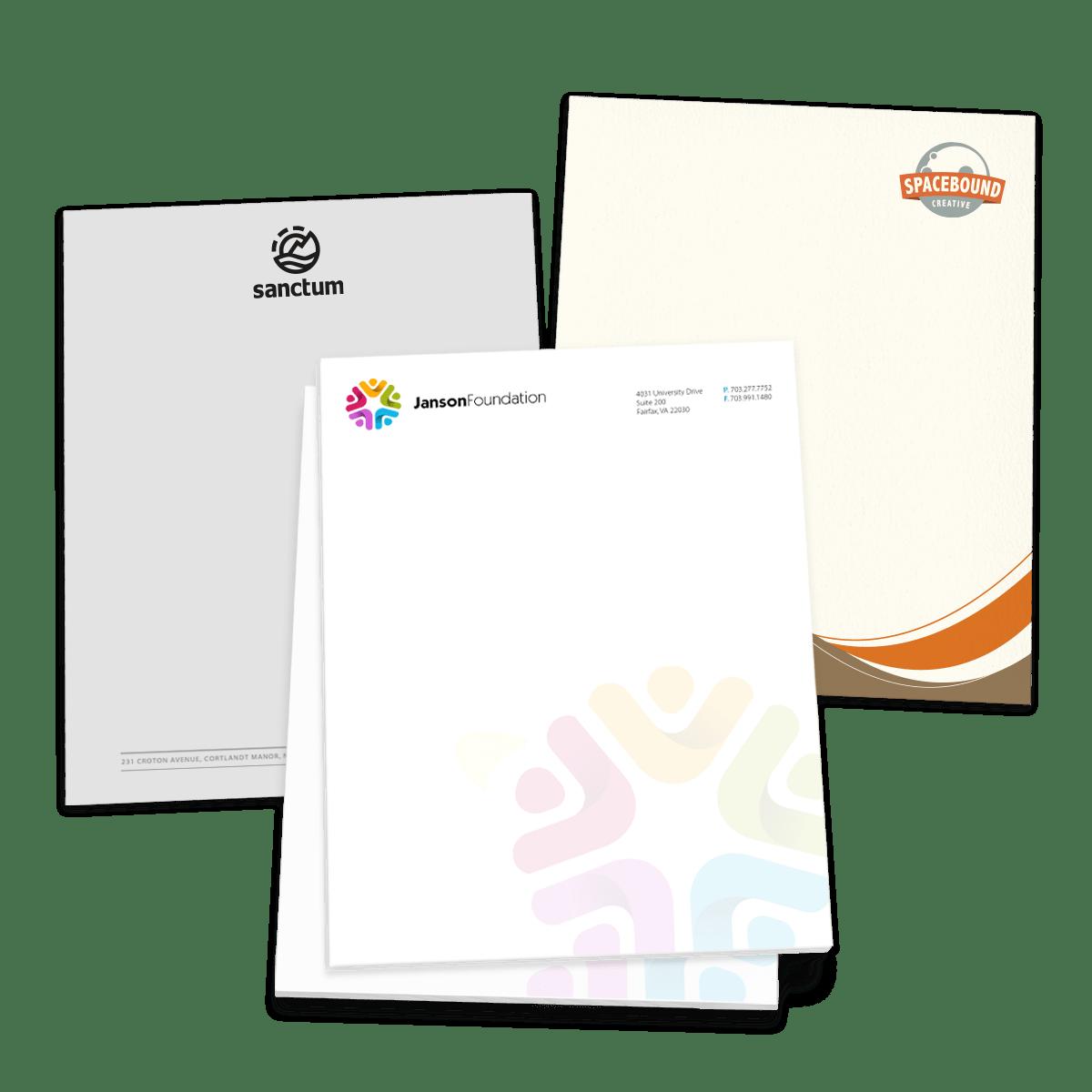 letterhead stationery paper