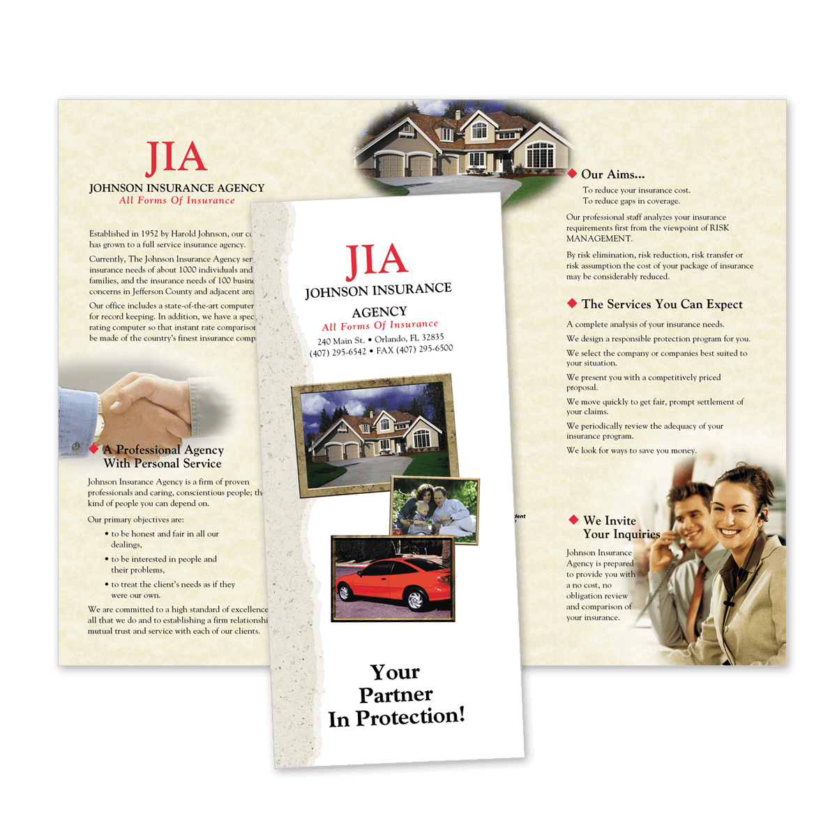Insurance Brochures Custom Brochures Mines Press