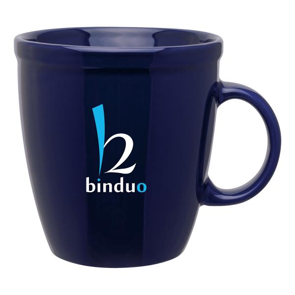 Coffee House 18 Oz. Glossy Ceramic Mug Mines Press