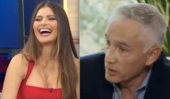 Jorge Ramos's girlfriend shows her breasts on the beach and causes feelings (4 PHOTOS)