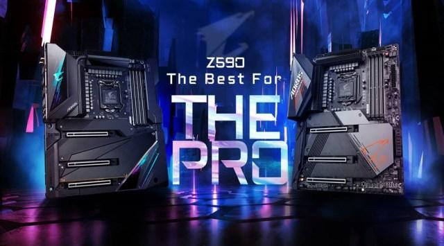 Motherboard Z590 AORUS Series