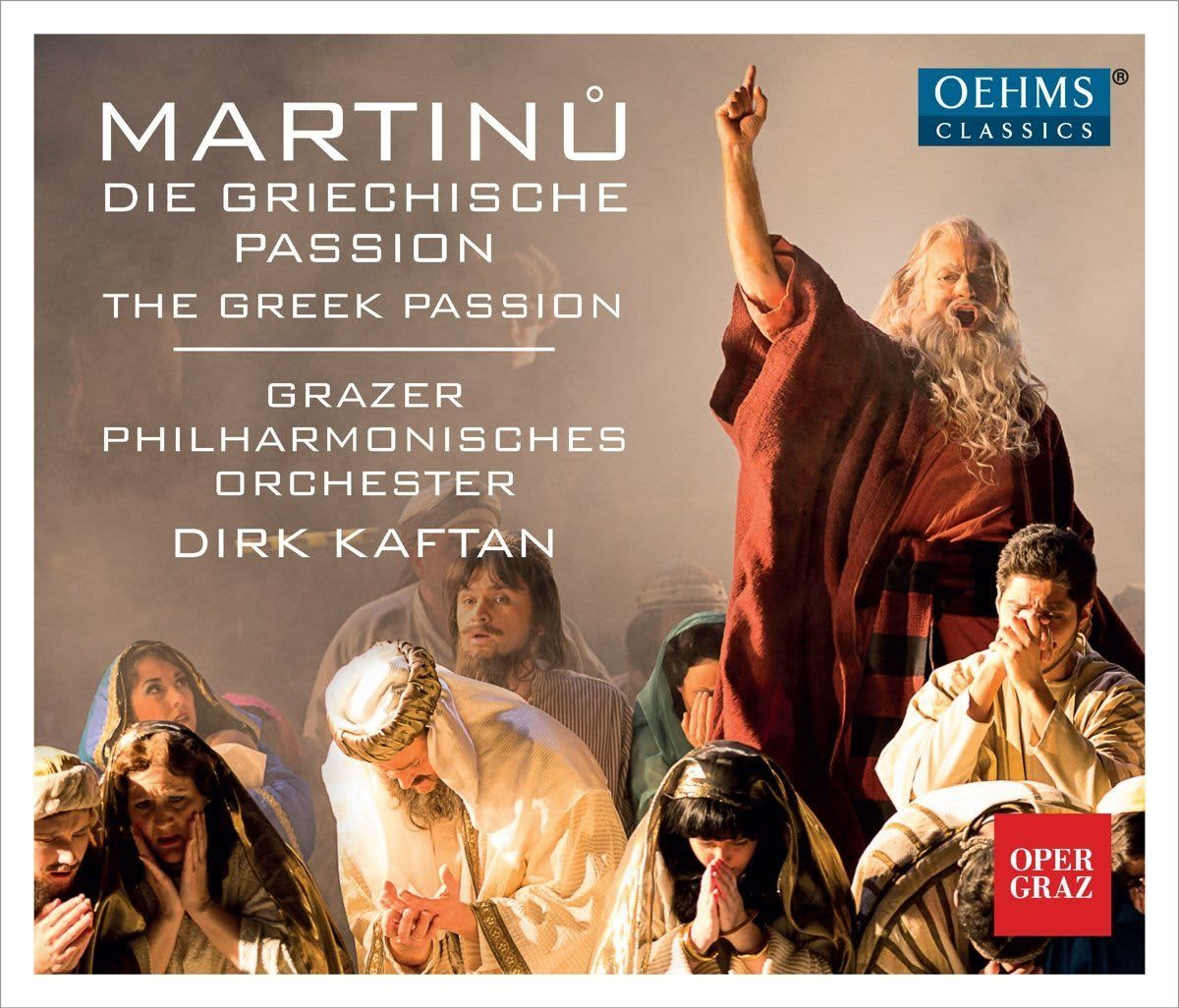 Photo No.1 of Martinu: The Greek Passion