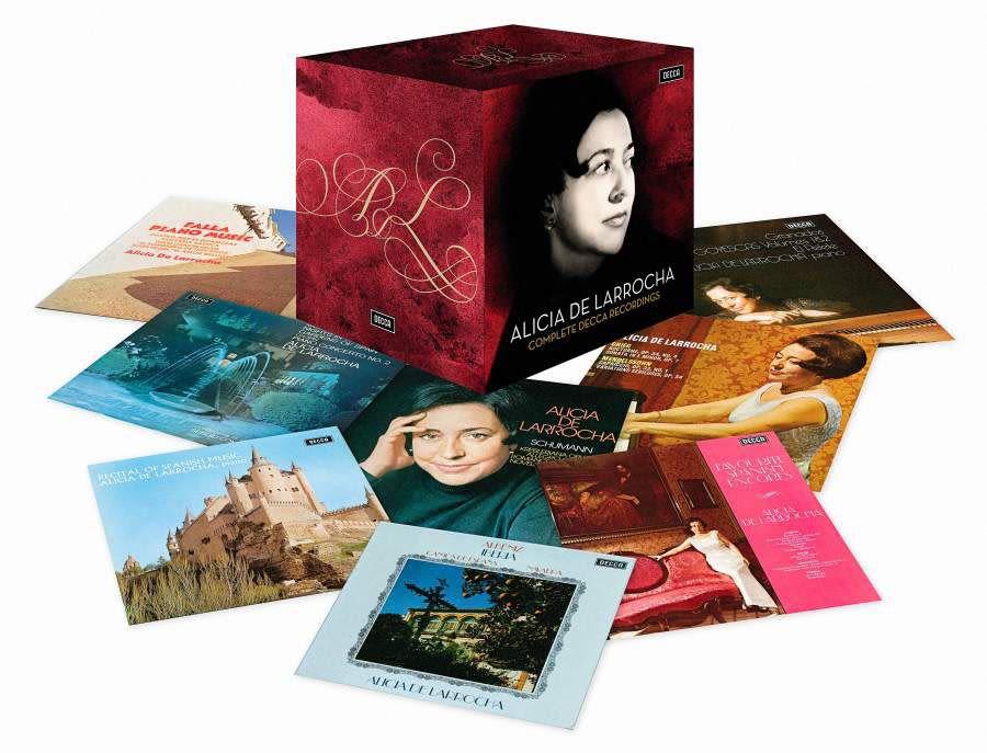 Photo No.1 of Alicia De Larrocha: Complete Decca Recordings
