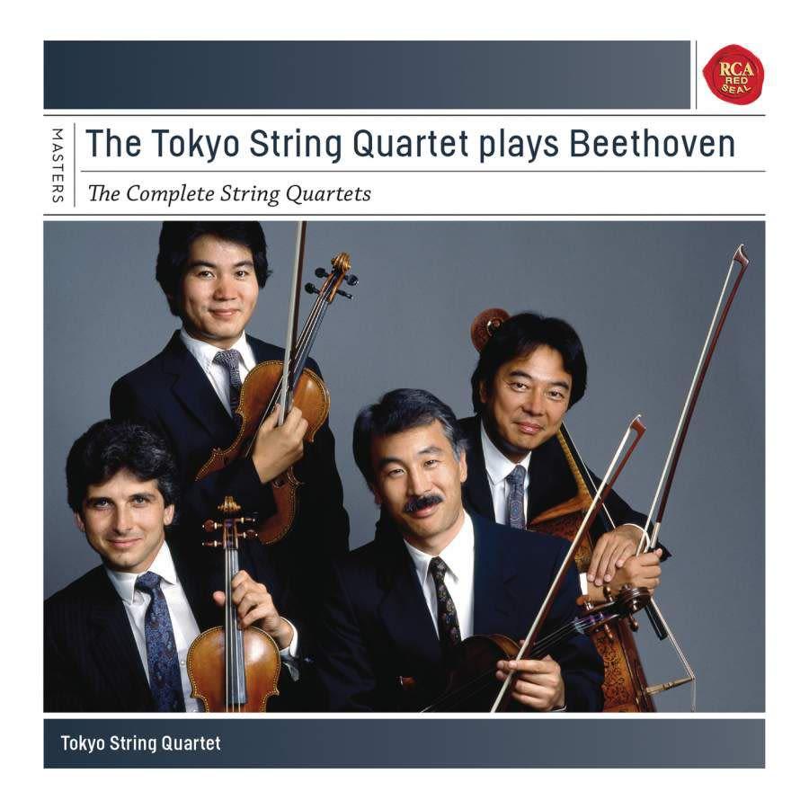 Photo No.1 of Tokyo String Quartet plays Beethoven