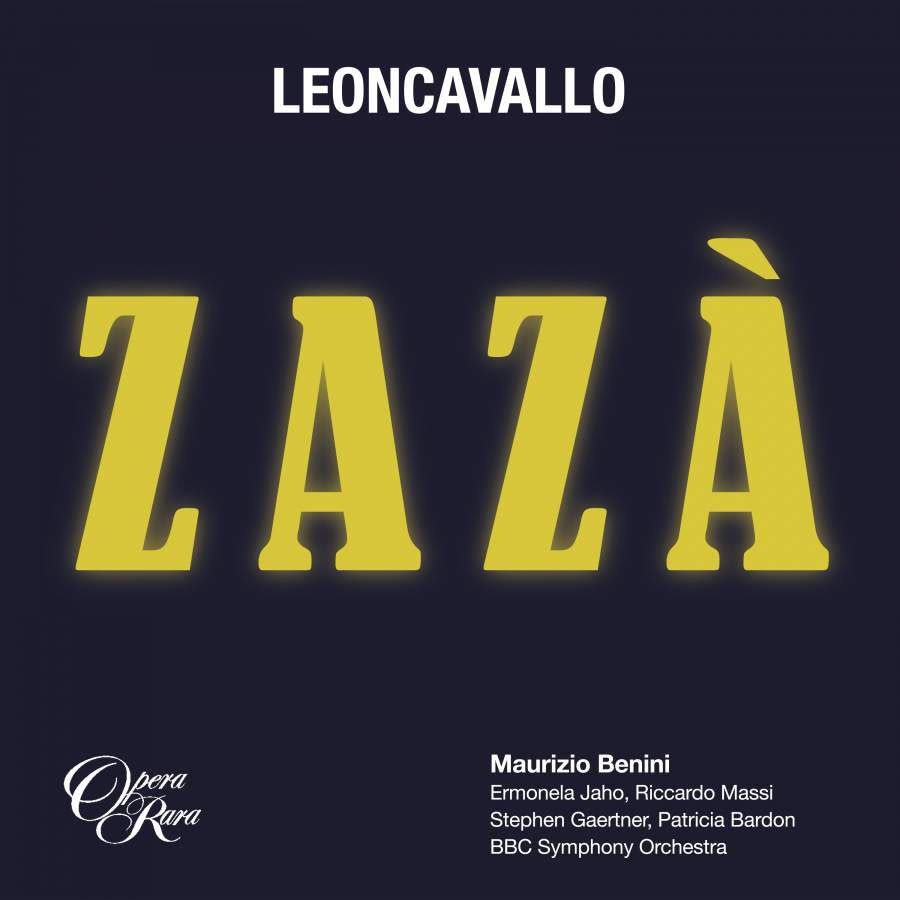 Photo No.1 of Leoncavallo: Zazà