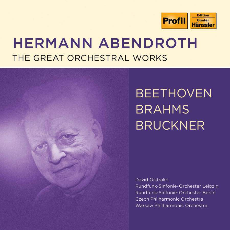 Photo No.1 of Abendroth conducts Beethoven, Brahms & Bruckner: Orchestral Works