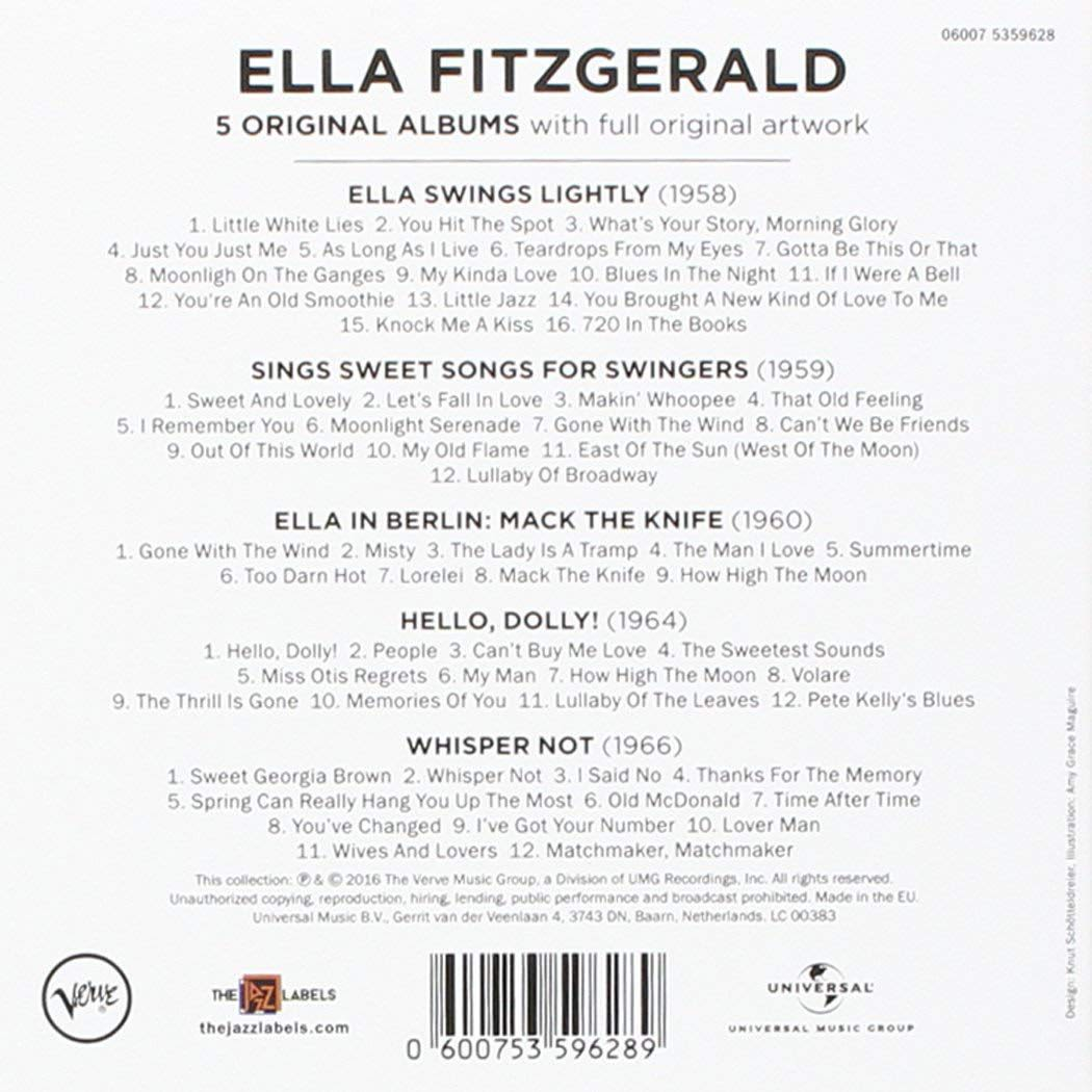 Photo No.2 of Ella Fitzgerald: 5 Original Albums